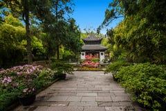 Ναός Huishan Huishan Jiangsu Στοκ εικόνες με δικαίωμα ελεύθερης χρήσης