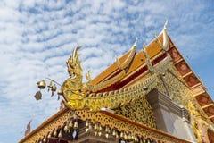 Ναός inThailand, στέγη του ναού, 2015 Ταϊλάνδη Στοκ Εικόνες