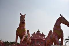 Ναός Iskcon, Anantpur, Άντρα Πραντές, Ινδία Στοκ φωτογραφία με δικαίωμα ελεύθερης χρήσης