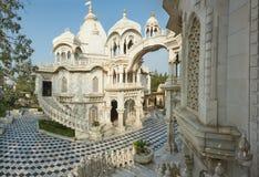 Ναός ISKCON Krishna Balaram Vrindavan, Ούτα Πράτες, Ινδία στοκ εικόνες με δικαίωμα ελεύθερης χρήσης