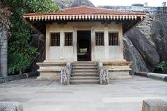 Ναός Isurumuniya, Σρι Λάνκα Στοκ φωτογραφία με δικαίωμα ελεύθερης χρήσης