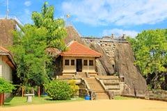 Ναός Isurumuniya Anuradhapura, παγκόσμια κληρονομιά της ΟΥΝΕΣΚΟ της Σρι Λάνκα Στοκ εικόνα με δικαίωμα ελεύθερης χρήσης