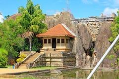 Ναός Isurumuniya Anuradhapura, παγκόσμια κληρονομιά της ΟΥΝΕΣΚΟ της Σρι Λάνκα Στοκ Εικόνα