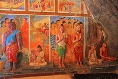 Ναός Isurumuniya Anuradhapura, παγκόσμια κληρονομιά της ΟΥΝΕΣΚΟ της Σρι Λάνκα Στοκ Φωτογραφία