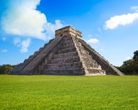 Ναός Itza EL Templo Kukulcan Chichen Στοκ εικόνες με δικαίωμα ελεύθερης χρήσης