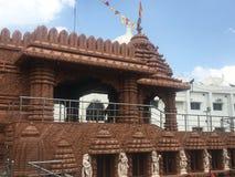 Ναός Jagannath στο Hyderabad, Ινδία Στοκ Φωτογραφία