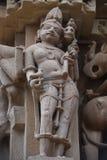 Ναός Jagdambi, Khajuraho, Ινδία Στοκ Εικόνες