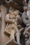 Ναός Jagdambi, Khajuraho, Ινδία Στοκ Εικόνα