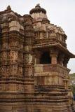 Ναός Jagdambi, Khajuraho, Ινδία Στοκ φωτογραφίες με δικαίωμα ελεύθερης χρήσης