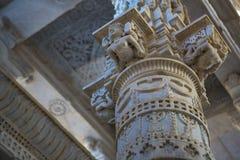 Ναός Jain σε Ranakpur, Ινδία, Rajasthan Chaumukha Mandir αυτή στοκ φωτογραφία