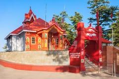 Ναός Jakhoo, Shimla Στοκ Εικόνα