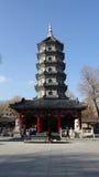 Ναός Jile στο Χάρμπιν Κίνα Στοκ Εικόνες