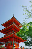 Ναός Jinja Yasaka Στοκ Φωτογραφία