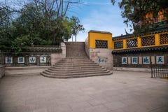 Ναός Jinshan, επαρχία Jiangsu, η υπάρχουσα πέτρα Στοκ Εικόνα