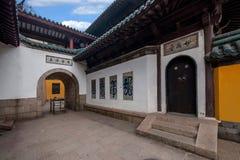 Ναός Jinshan, Zhenjiang, επαρχία Jiangsu Στοκ εικόνα με δικαίωμα ελεύθερης χρήσης
