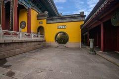 Ναός Jinshan, Zhenjiang, επαρχία Jiangsu Στοκ φωτογραφίες με δικαίωμα ελεύθερης χρήσης