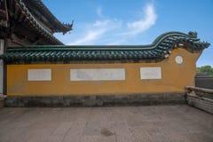 Ναός Jinshan, Zhenjiang, επαρχία Jiangsu Στοκ φωτογραφία με δικαίωμα ελεύθερης χρήσης