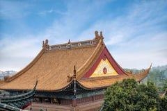 Ναός Jinshan, Zhenjiang, επαρχία Jiangsu Στοκ Φωτογραφίες