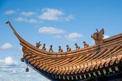 Ναός Jinshan, Zhenjiang, επαρχία Jiangsu Στοκ Φωτογραφία