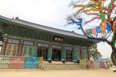 Ναός Jogyesa στη Σεούλ, Νότια Κορέα στοκ φωτογραφίες