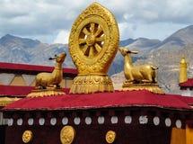 Ναός Jokhang στοκ φωτογραφίες με δικαίωμα ελεύθερης χρήσης