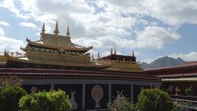Ναός Jokhang, Lhasa Στοκ Φωτογραφία