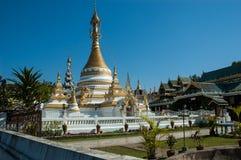Ναός Jong Klang Wat, γιος της Mae Hong Στοκ Φωτογραφίες