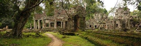 Ναός Kahn Preah, Καμπότζη Στοκ Φωτογραφίες