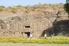 Ναός Kailas σε Ellora, Maharashtra κράτος Στοκ Εικόνα