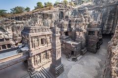 Ναός Kailas, Ellora στοκ εικόνες με δικαίωμα ελεύθερης χρήσης