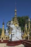 Ναός Kakku το σύνθετο - κράτος της Shan - Μιανμάρ Στοκ φωτογραφία με δικαίωμα ελεύθερης χρήσης