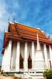 Ναός Kalayanamit Wat, Μπανγκόκ, Ταϊλάνδη στοκ εικόνα