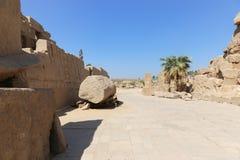 Ναός Karnak - Αίγυπτος Στοκ Εικόνα