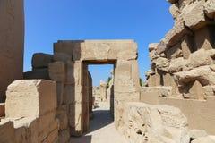 Ναός Karnak - Αίγυπτος Στοκ εικόνες με δικαίωμα ελεύθερης χρήσης