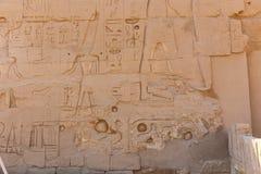 Ναός Karnak - Αίγυπτος Στοκ Φωτογραφία