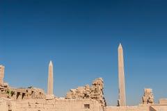 Ναός Karnak, Αίγυπτος Στοκ Φωτογραφίες