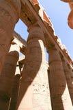 Ναός Karnak - ο περισσότερος τεράστιος ναός στην Αίγυπτο Στοκ φωτογραφία με δικαίωμα ελεύθερης χρήσης