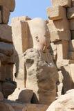 Ναός Karnak - ο περισσότερος τεράστιος ναός στην Αίγυπτο Στοκ Εικόνες