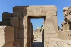 Ναός Karnak - ο περισσότερος τεράστιος ναός στην Αίγυπτο Στοκ Φωτογραφίες