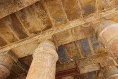 Ναός Karnak - ο περισσότερος τεράστιος ναός στην Αίγυπτο Στοκ Φωτογραφία
