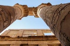 Ναός Karnak Στοκ Φωτογραφία