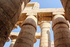 Ναός Karnak Στοκ Φωτογραφίες