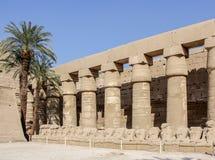 Ναός Karnak Στοκ φωτογραφία με δικαίωμα ελεύθερης χρήσης