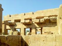 Ναός Karnak Στοκ Εικόνες