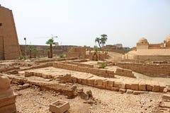 Ναός Karnak (Thebes) σε Luxor Αίγυπτος Στοκ Εικόνα