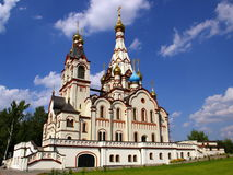 ναός kazanskii Στοκ εικόνα με δικαίωμα ελεύθερης χρήσης