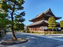 Ναός Kennin-kennin-ji Στοκ φωτογραφία με δικαίωμα ελεύθερης χρήσης