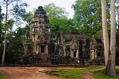 ναός keo TA της Καμπότζης angkor Ογκώδης ατελής ναός βουνών στοκ φωτογραφίες με δικαίωμα ελεύθερης χρήσης
