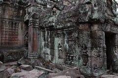 Ναός Khan Preah σε Angkor Στοκ φωτογραφία με δικαίωμα ελεύθερης χρήσης