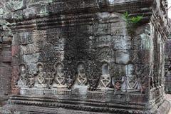 Ναός Khan Preah σε Angkor Στοκ Εικόνες